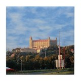 Bratislava Castle, Slovakia Tile Coaster