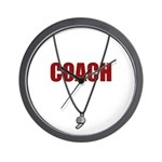 COACH Wall Clock