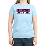 I PUNCH (LIKE A GIRL)  T-Shirt
