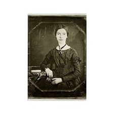 Emily Dickinson Rectangle Magnet