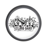 Celand Family Dairy Wall Clock