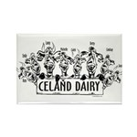 Celand Family Dairy Rectangle Magnet