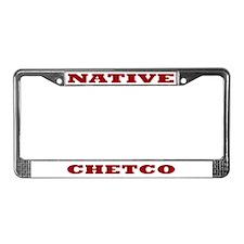 Chetco Native License Plate Frame