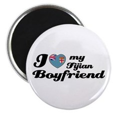 "I love my Fijian Boyfriend 2.25"" Magnet (100 pack)"