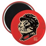 "Chairman Meow- Cat 2.25"" Magnets (10 pack)"
