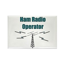 Ham Radio Operator Rectangle Magnet