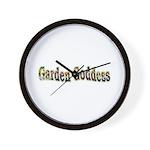 Garden Goddess Wall Clock