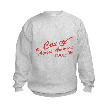 Cox Across America Tour Kids Sweatshirt