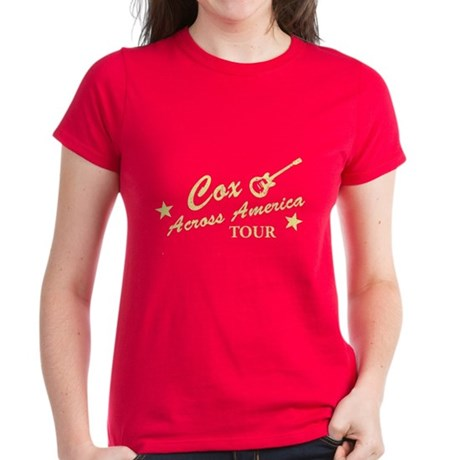 Cox Across America Tour Womens T-Shirt