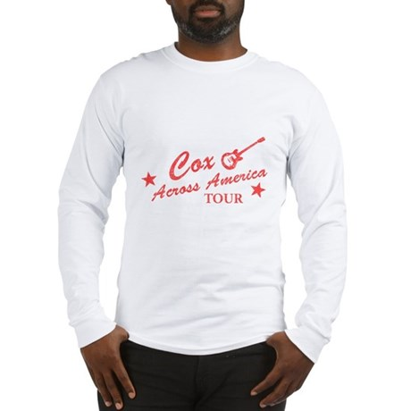 Cox Across America Tour Long Sleeve T-Shirt