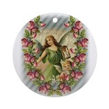Angels and Roses Keepsake (Round)