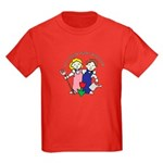 All Thing Grow with Love Kids Dark T-Shirt