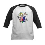 All Thing Grow with Love Kids Baseball Jersey