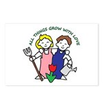 All Thing Grow with Love Postcards (Package of 8)