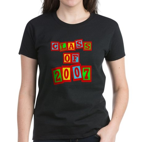 Class of 2007 Women's Dark T-Shirt