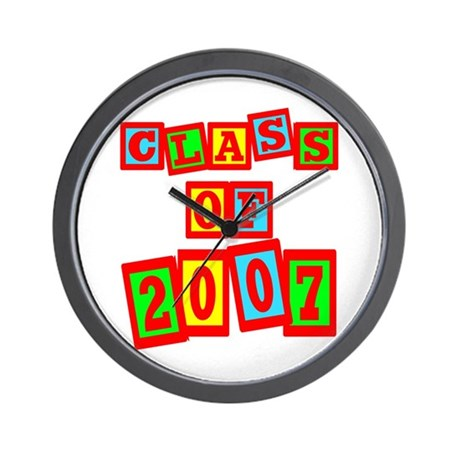 Class of 2007 Wall Clock