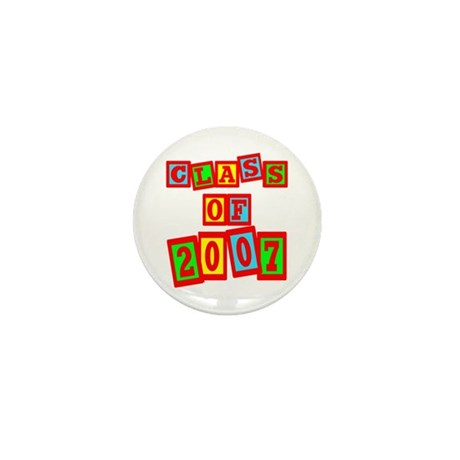 Class of 2007 Mini Button (100 pack)