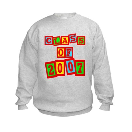 Class of 2007 Kids Sweatshirt