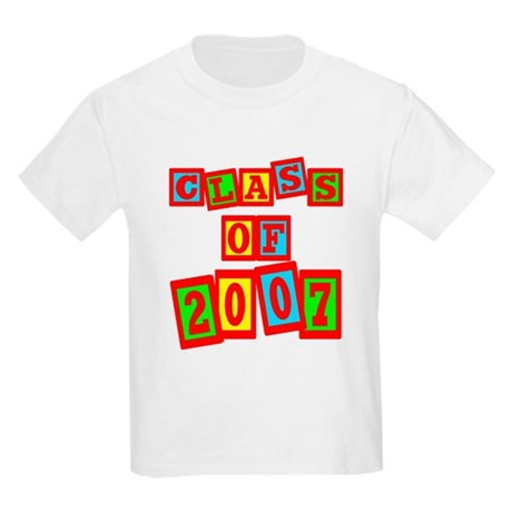 Class of 2007 Kids Light T-Shirt