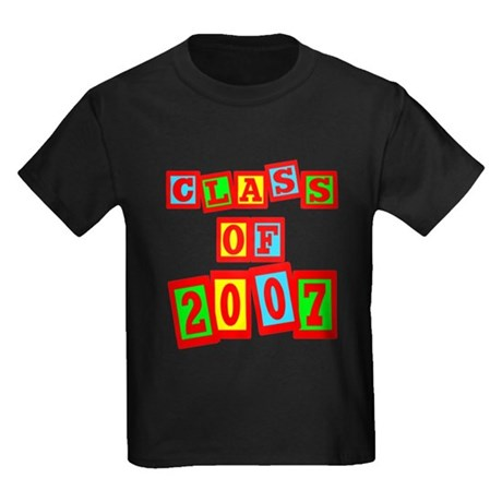 Class of 2007 Kids Dark T-Shirt