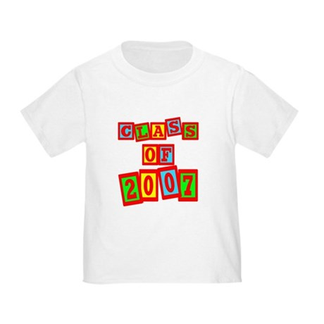 Class of 2007 Toddler T-Shirt