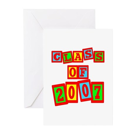 Class of 2007 Greeting Cards (Pk of 20)