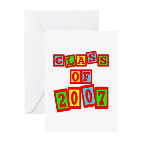 Class of 2007 Greeting Card