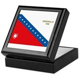 Greenville Flag Keepsake Box