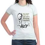 BLACK Jr. Ringer T-Shirt