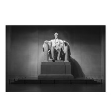 Lincoln B&W Postcards (Package of 8)
