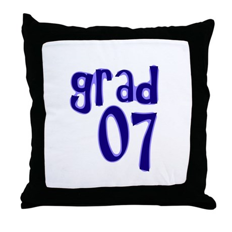 Grad 07 Throw Pillow