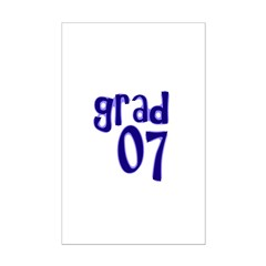Grad 07 Mini Poster Print