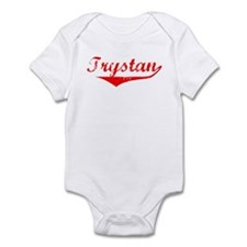 Trystan Vintage (Red) Infant Bodysuit