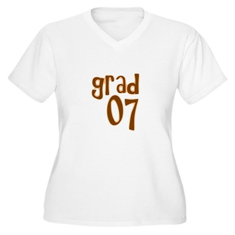 Grad 07 Women's Plus Size V-Neck T-Shirt