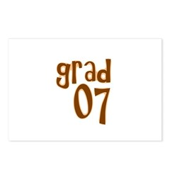 Grad 07 Postcards (Package of 8)