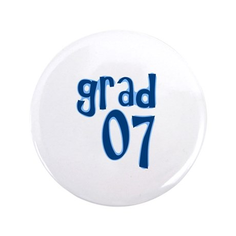 "Grad 07 3.5"" Button (100 pack)"