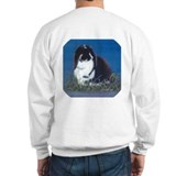 French Lop Bunny Sweatshirt Ash Grey