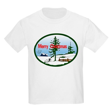 Christmas Snow Kids Light T-Shirt