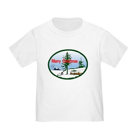 Christmas Snow Toddler T-Shirt