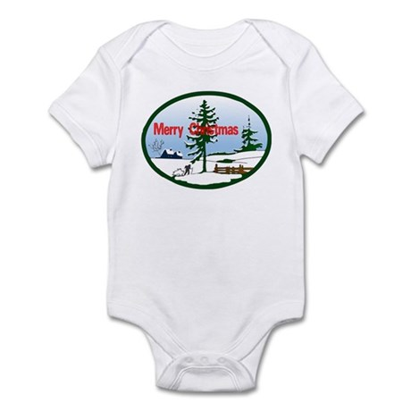 Christmas Snow Infant Bodysuit