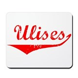 Ulises Vintage (Red) Mousepad