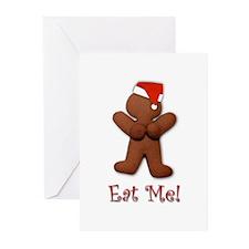 eat me Greeting Cards (Pk of 10)