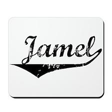 Jamel Vintage (Black) Mousepad