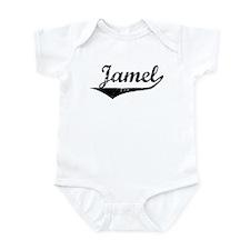 Jamel Vintage (Black) Infant Bodysuit