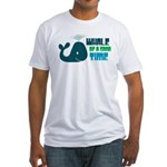 Whale of a Good Time Fitted T-Shirt