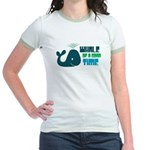 Whale of a Good Time Jr. Ringer T-Shirt