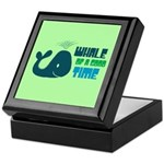 Whale of a Good Time Keepsake Box