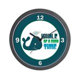 Whale of a Good Time Wall Clock