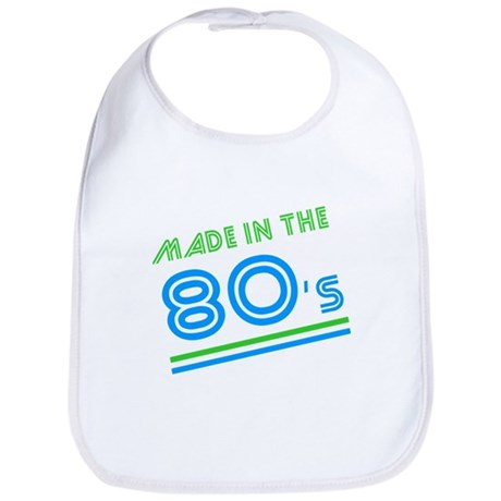 Made in the 80's Bib
