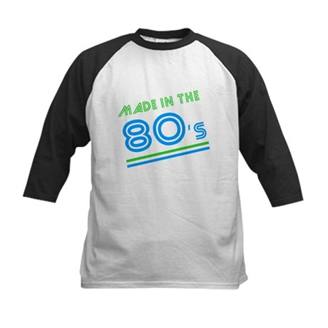 Made in the 80's Kids Baseball Jersey